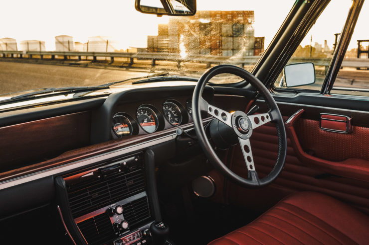 Custom BMW E9 Dash