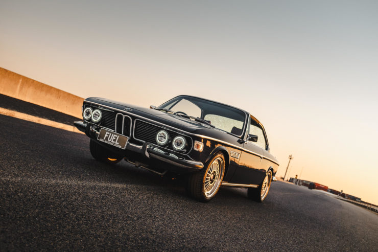 Custom BMW E9 Driving