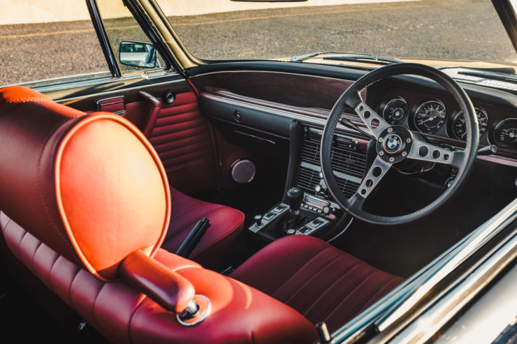 Custom BMW E9 Interior