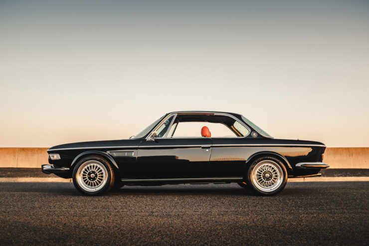 Custom BMW E9 Left Side