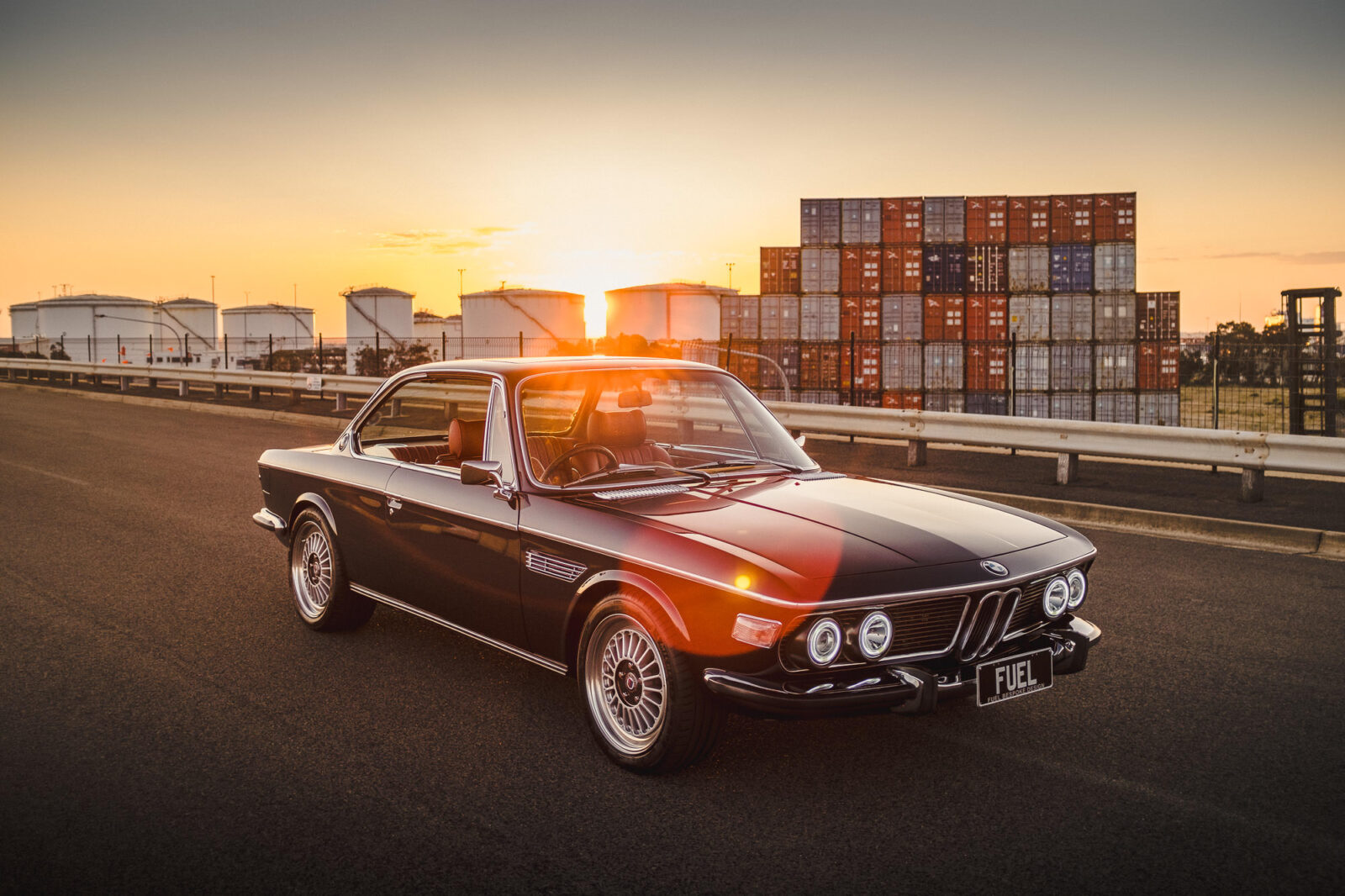 Custom BMW E9 Overhead