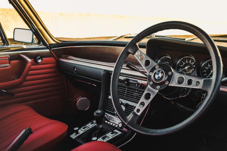 Custom BMW E9 Steering Wheel