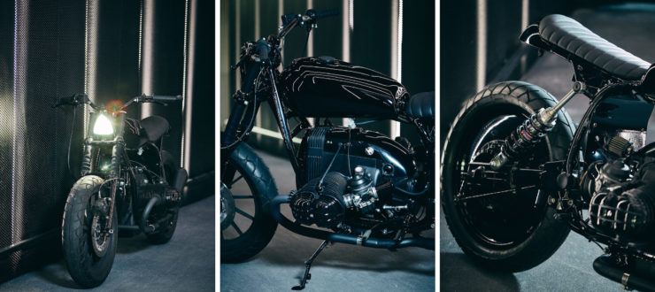 Custom BMW R80 RT Motorcycle Details
