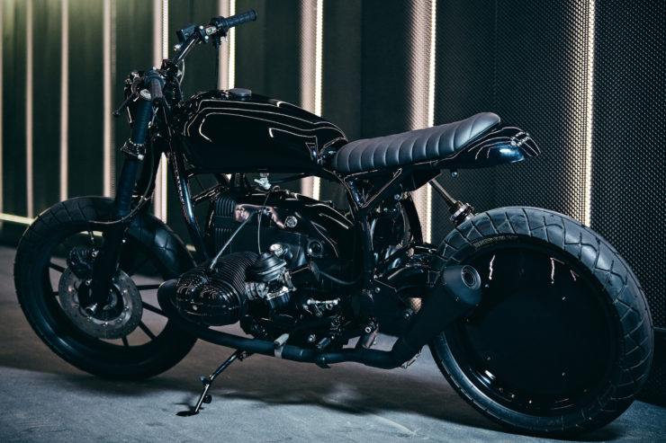 Custom BMW R80 RT Motorcycle Rear
