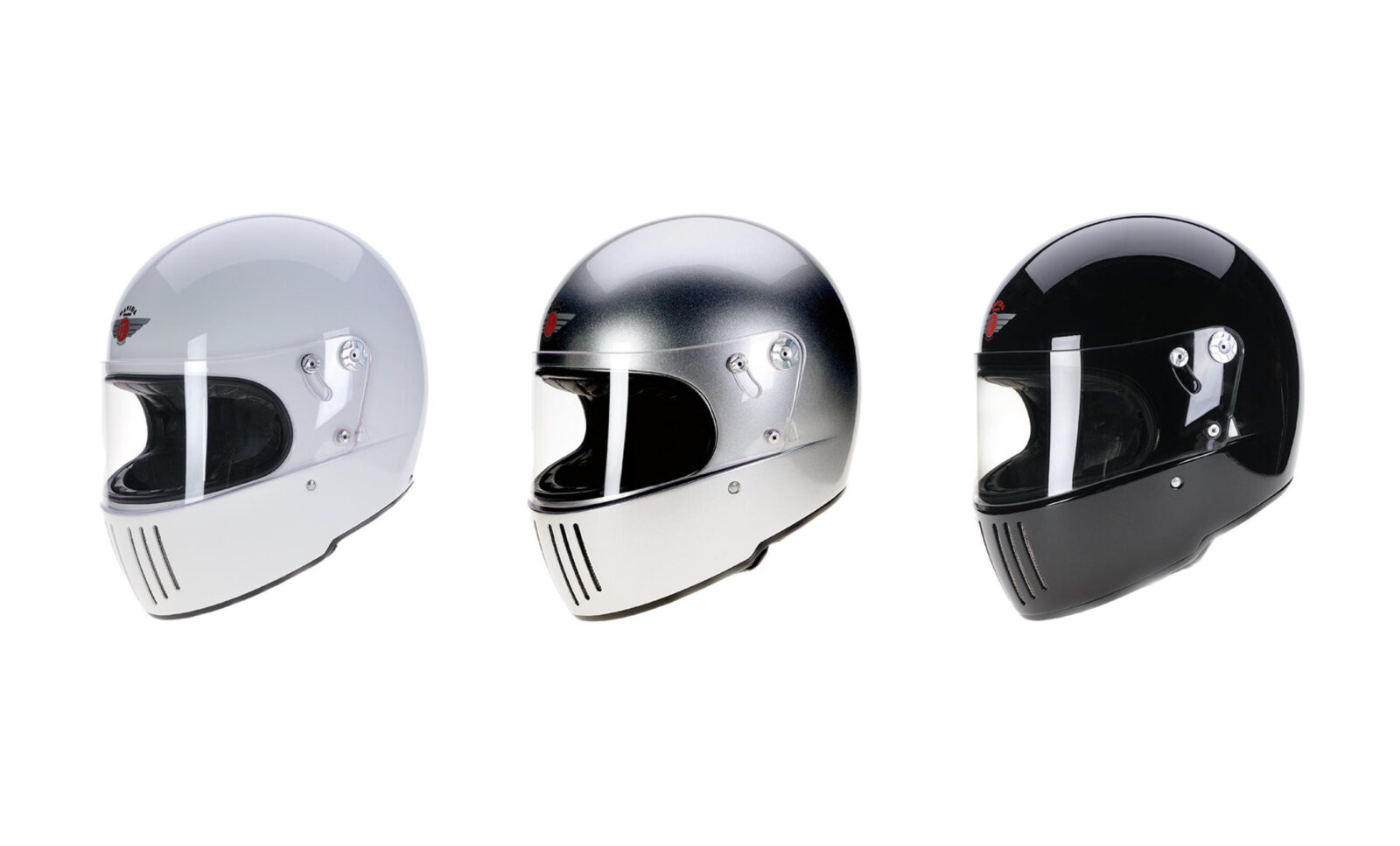 The Davida Koura Full Face Motorcycle Helmet - 100% Made In Britain
