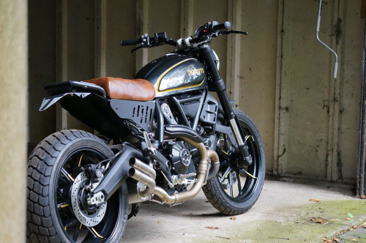 Ducati Scrambler Icon Custom Rear