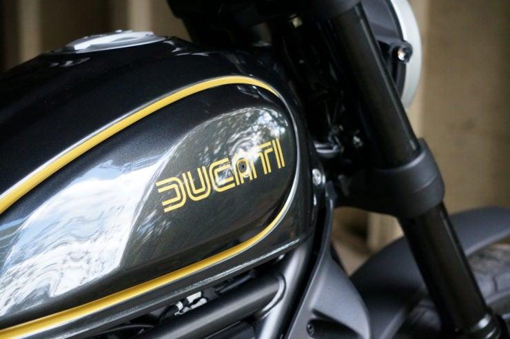 Ducati Scrambler Icon Custom Tank