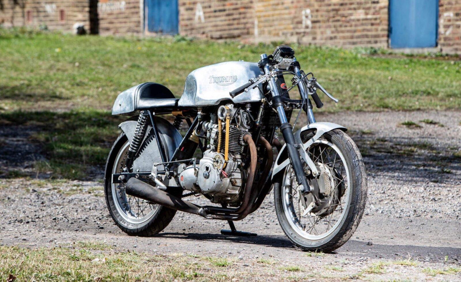 Egli-Triumph Prototype OHC Engine