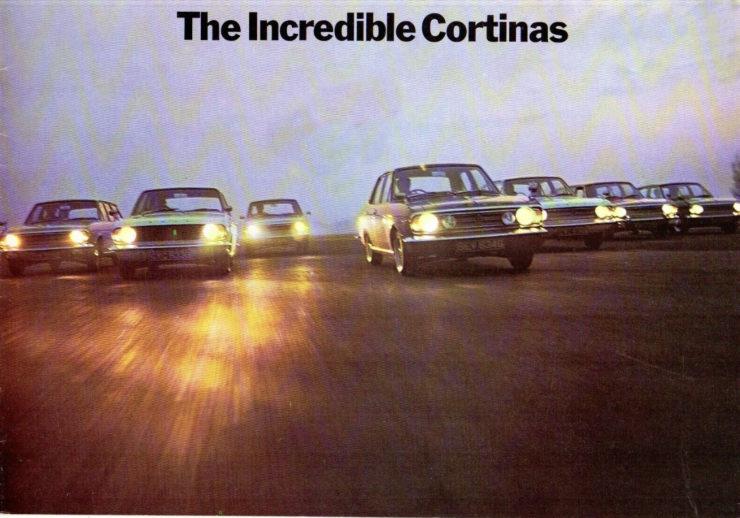 Ford Cortina Driving