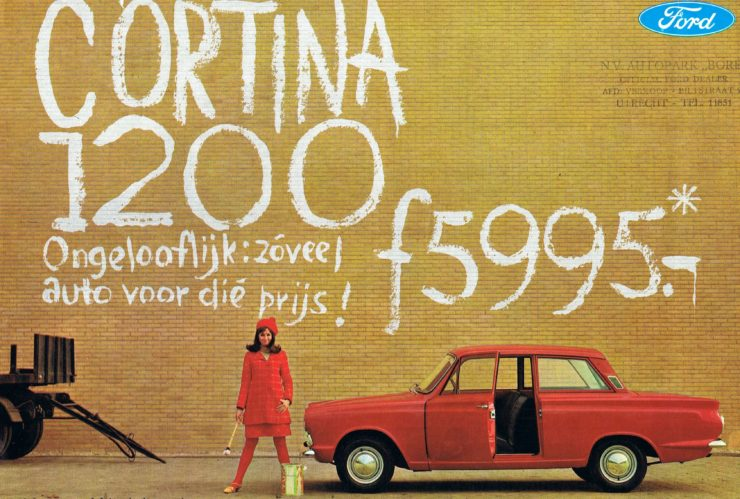 Ford Cortina Vintage