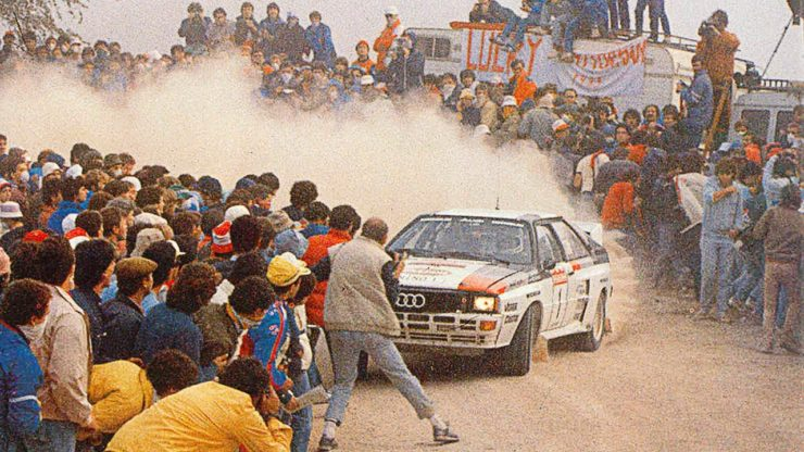 Group B Rally Audi 2