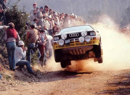 Group B Rally Audi