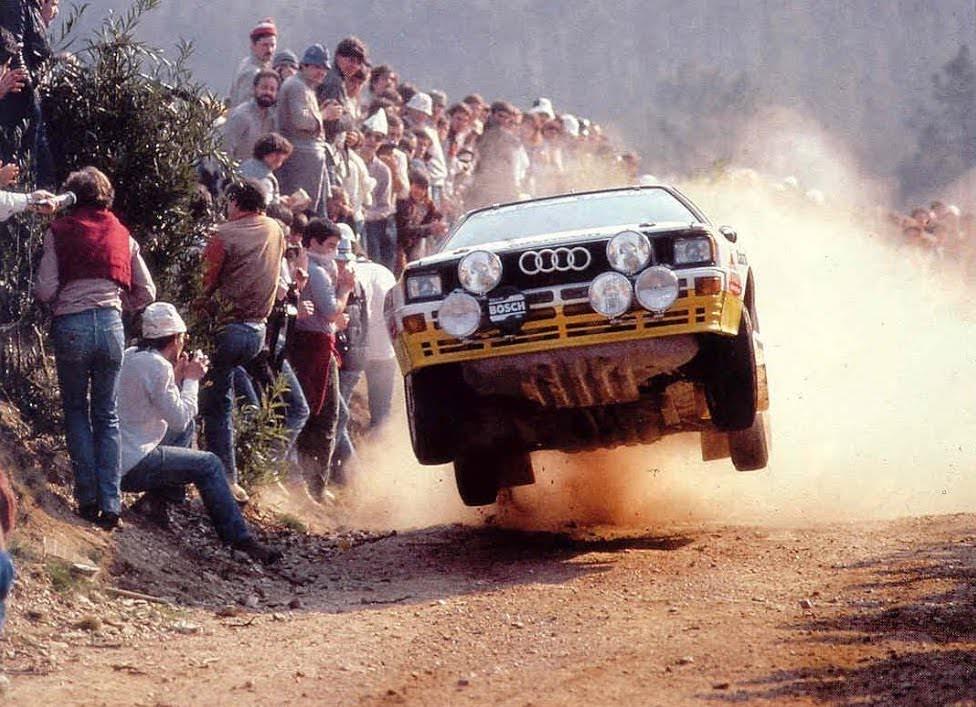 Group B Rally Audi