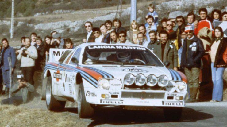 Group B Rally Lancia