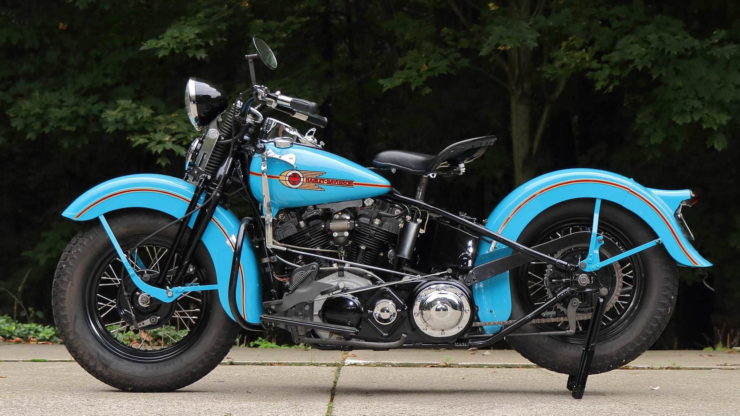 Harley-Davidson EL Knucklehead