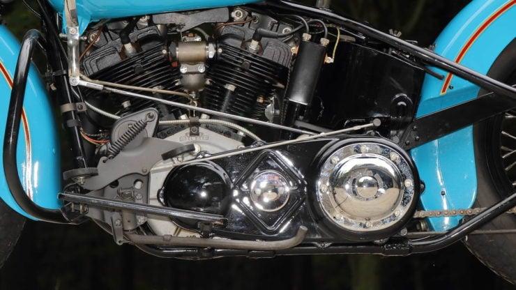 Harley-Davidson EL Knucklehead Crank Case