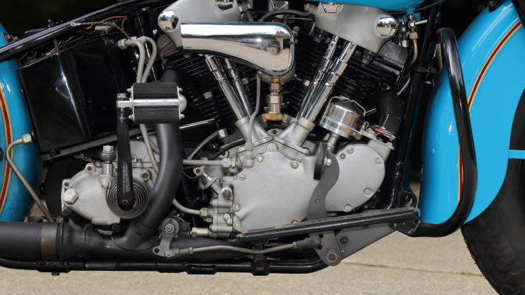 Harley-Davidson EL Knucklehead Engine