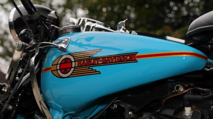 Harley-Davidson EL Knucklehead Fuel Tank