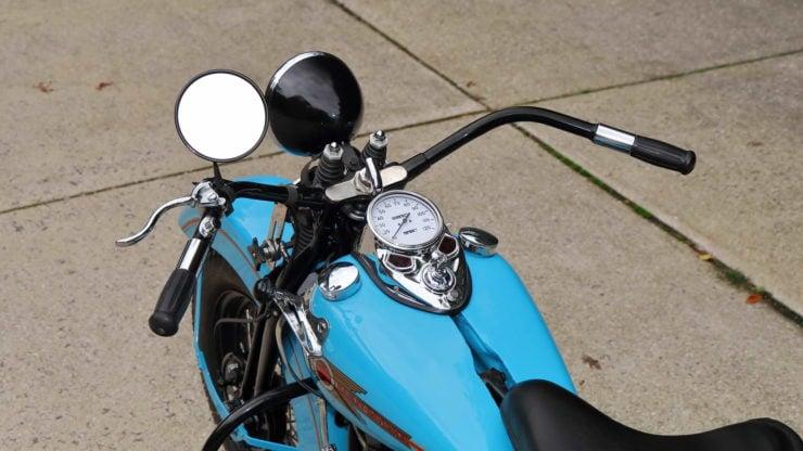 Harley-Davidson EL Knucklehead Handlebars