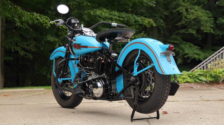 Harley-Davidson EL Knucklehead Rear Fender