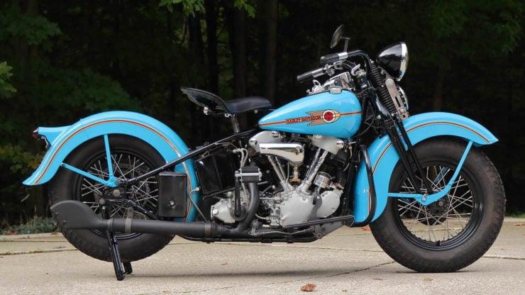 Harley-Davidson EL Knucklehead Side