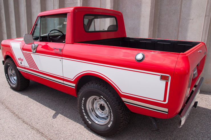 International Harvester Scout II Back