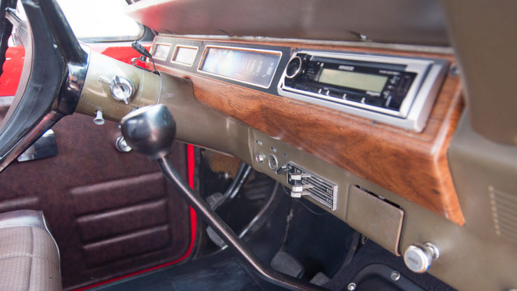 International Harvester Scout II Dash