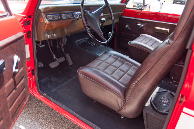 International Harvester Scout II Interior