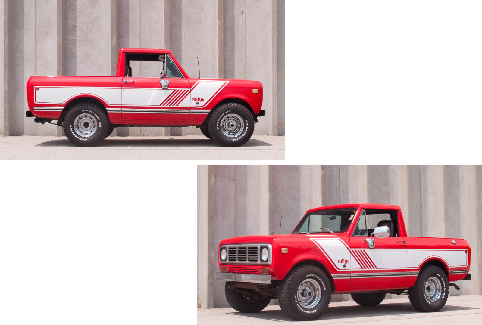 A Rare 1976 International Harvester Scout Ii Pickup Rallye Edition