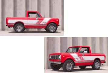 International Harvester Scout II Pickup Rallye