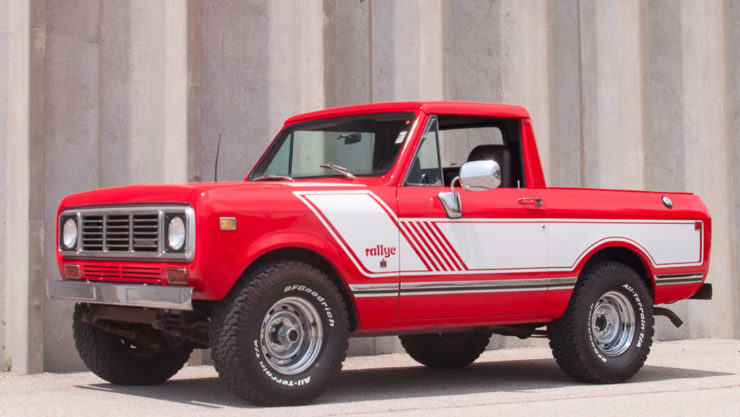 International Harvester Scout II Rallye