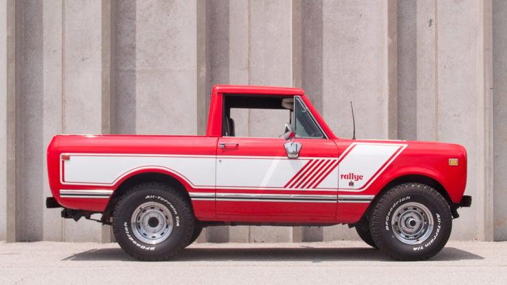 A Rare 1976 International Harvester Scout II Pickup – Rallye Edition