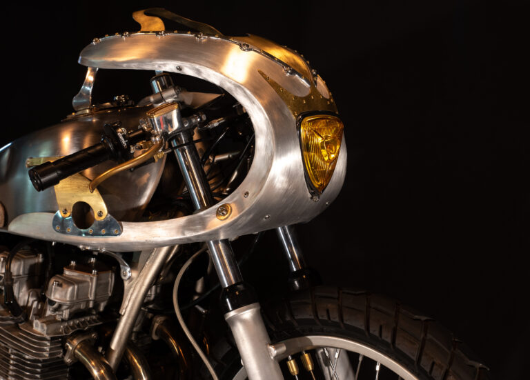 A Bespoke Kawasaki KZ650 by Mifune Werx Custom Motorcycles