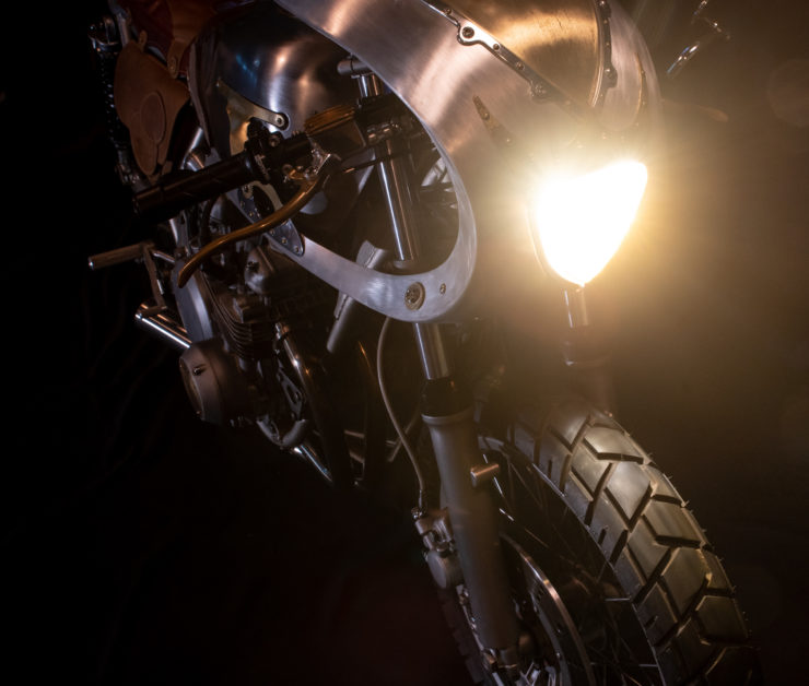 Kawasaki KZ650 Custom Headlight 2