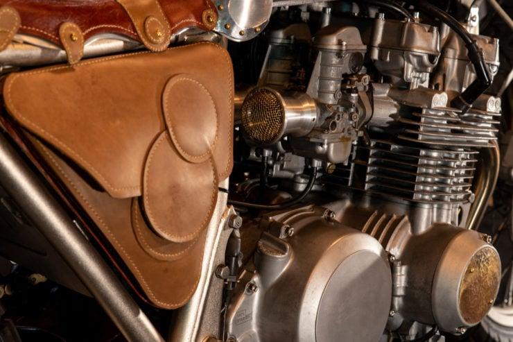 Kawasaki KZ650 Custom Pannier