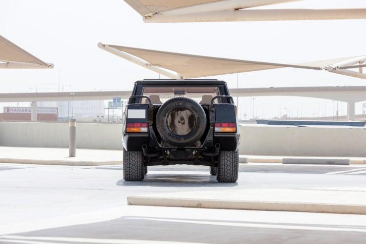 Lamborghini LM002 Back