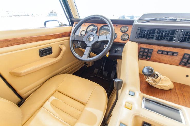 Lamborghini LM002 Interior 2