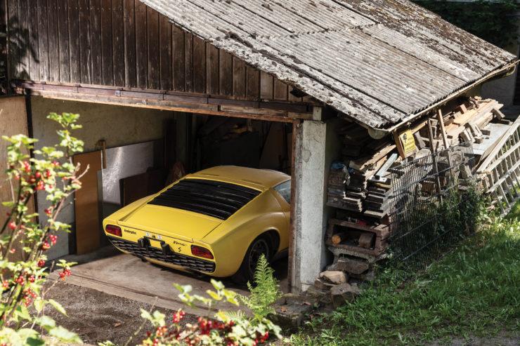 Lamborghini Miura P400 S Barn Find