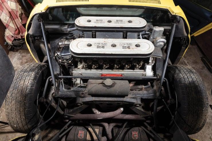 Lamborghini Miura P400 S Engine
