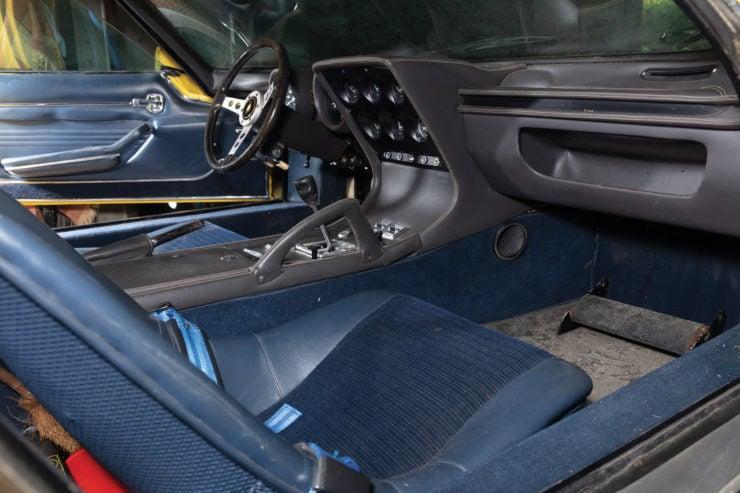 Lamborghini Miura P400 S Interior 2