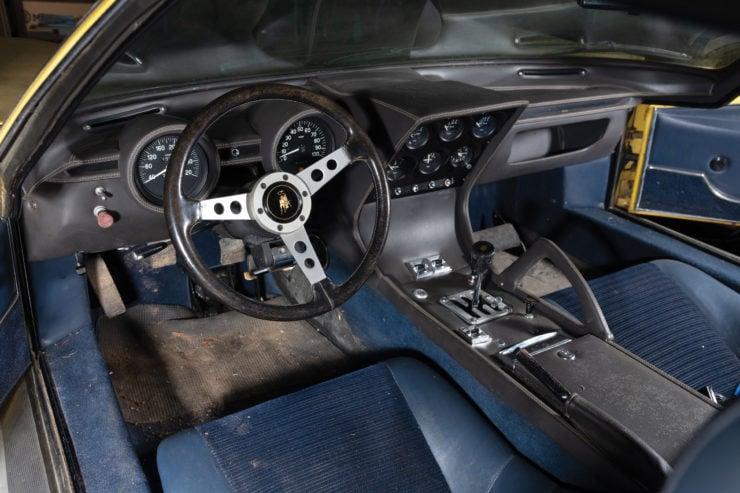 Lamborghini Miura P400 S Interior