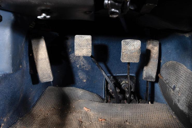 Lamborghini Miura P400 S Pedals