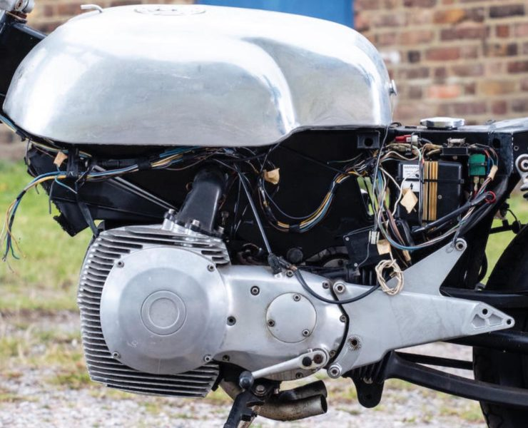 Norton Rotary Racing Motorcycle Engine