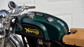 Norvin - Norton - Vincent Cafe Racer
