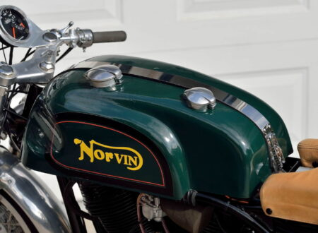 Norvin - Norton - Vincent Cafe Racer