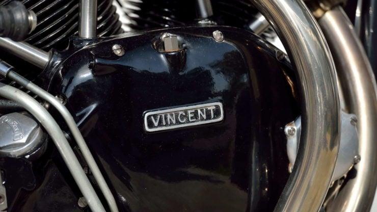 Norvin - Norton - Vincent Cafe Racer Crank Case