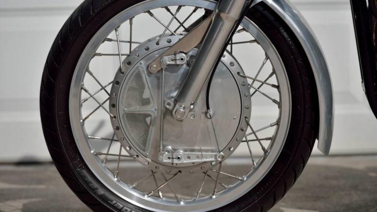 Norvin - Norton - Vincent Cafe Racer Drum Brake 2