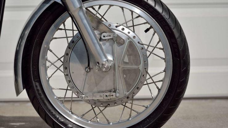 Norvin - Norton - Vincent Cafe Racer Drum Brake 3