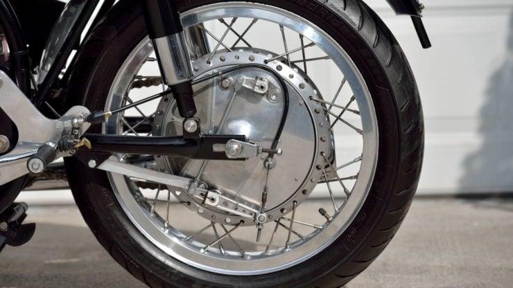 Norvin - Norton - Vincent Cafe Racer Drum Brake