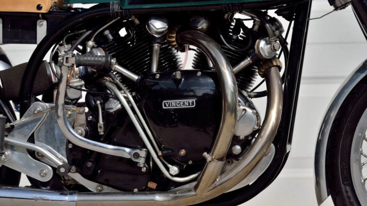 Norvin - Norton - Vincent Cafe Racer Engine 2